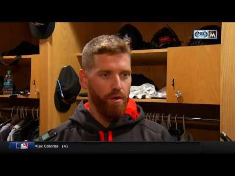 Dan Straily -- Miami Marlins at San Diego Padres 04/22/2017