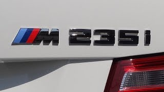 bmw m235i coupe f22 exhaust sound