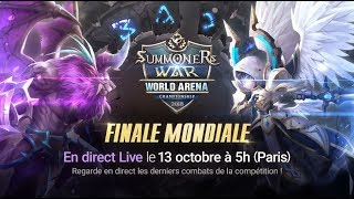 [FR] SWC2018 Finale Mondiale @Seoul |Summoners War |서머너즈워