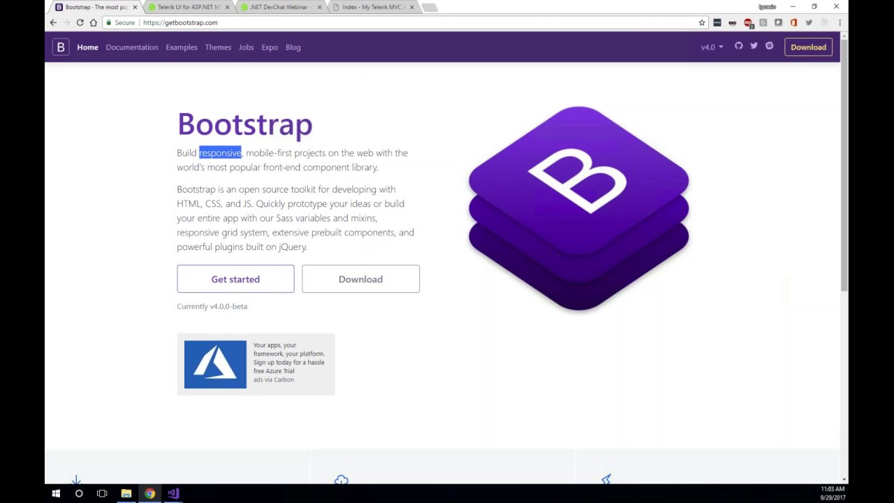 NET DevChat: Building Responsive Web Applications With ASP NET MVC and  Bootstrap (live demo)