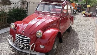 """2CV AZAM Export:how a """"re-starting"""" ended up being... well just have a look"""