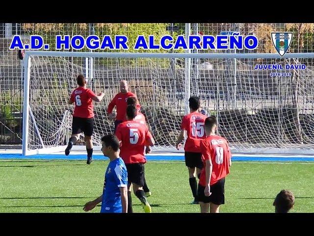 Gol de Jeremias  y lanzamiento de Rodrigo , juvenil Hogar Alcarreño