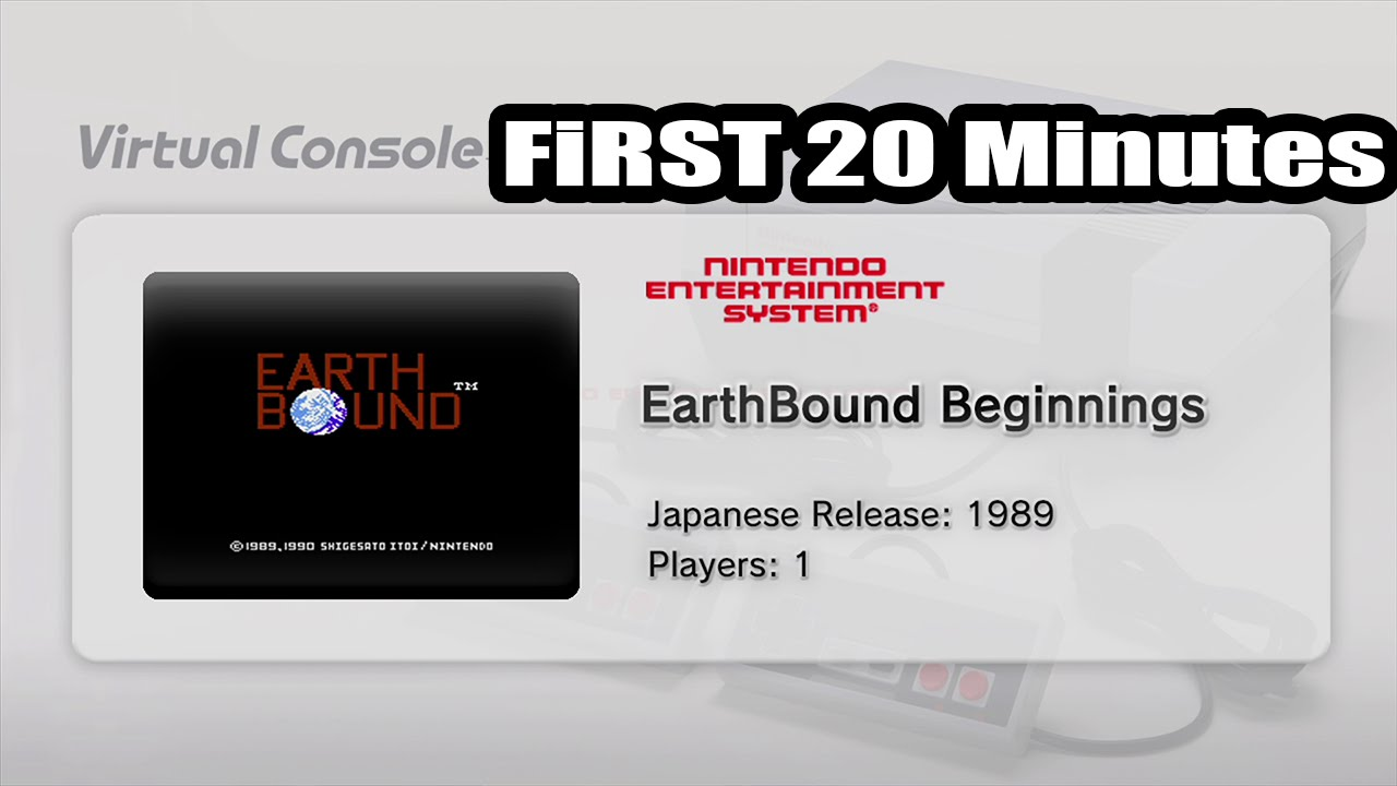 20 minutes of EarthBound Beginnings footage - Nintendo
