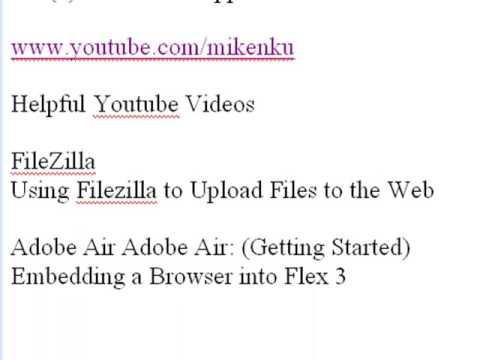 Adobe Air Content Management System (1 Of 3)