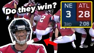 What if the Falcons had just KNEELED when they were up 28-3?