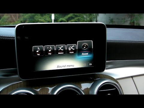 Mercedes C-Class W205 Burmester Surround Audio 20 System HD Sound Test Review