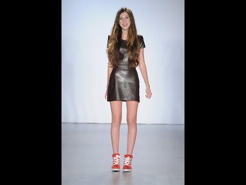 13 Year Old Designer S Fashion Line Displayed In Nyc Youtube