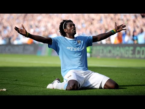 Emmanuel Adebayor's 19 Goals For Manchester City