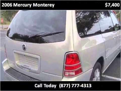 2006 mercury monterey used cars leesburg fl youtube. Black Bedroom Furniture Sets. Home Design Ideas