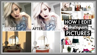 How I Edit My Instagram Pictures | WHITE THEME | ilikeweylie