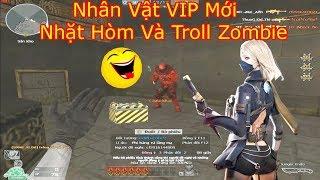 Nhân Vật VIP Đột Kích mới Nhất Đi Nhặt Hòm Tiếp Tế Và Troll Zombie- Quanq zombiev4