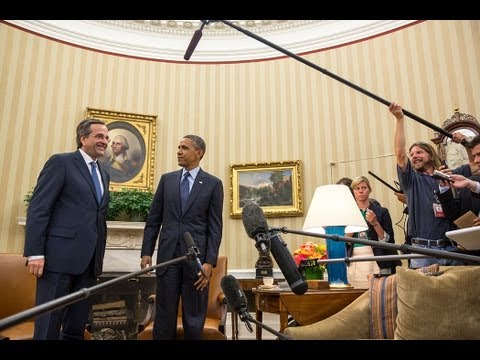 President Obama's Bilateral Meeting with Prime Minister Antonis Samaras of Greece