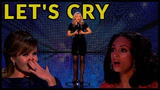 "Top 10 ""WHEN JUDGES START to CRY on BRITAIN"