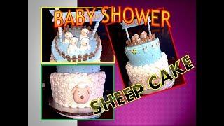 Sheep cake time lapse DIY!!! tutorial