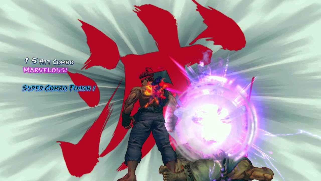 Evil Ryu's Raging Demo...