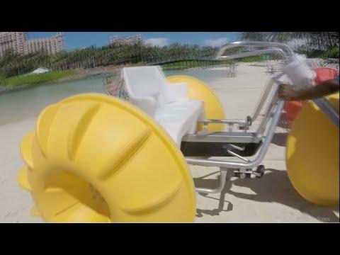 AQUA CYCLE RIDE! - Bahamas Vlog #2