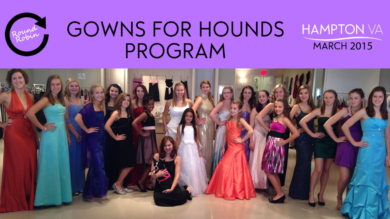 Gowns for Hounds Program - YouTube