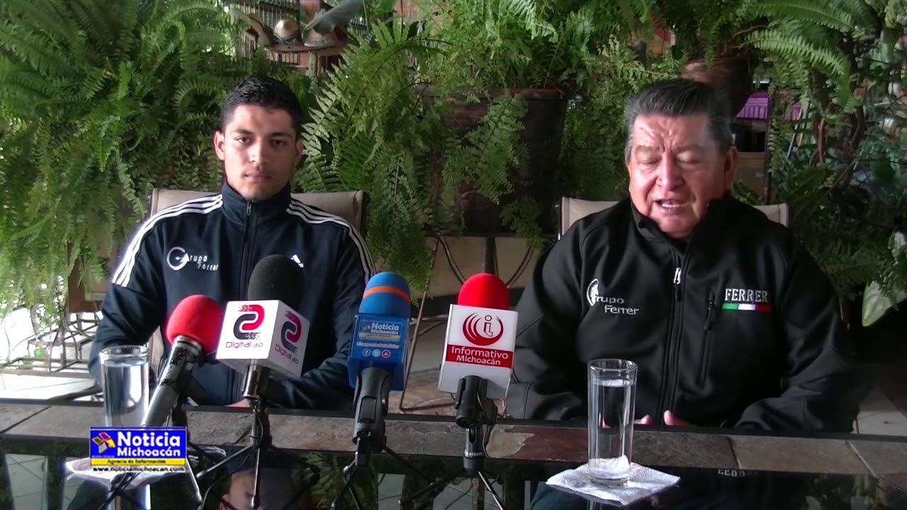 Grupo Ferrer presenta a Luis Ángel Cuevas Robledo destacado atleta de Zacapu