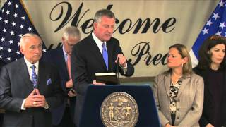 Mayor de Blasio Signs Laws Criminalizing Synthetic Drugs