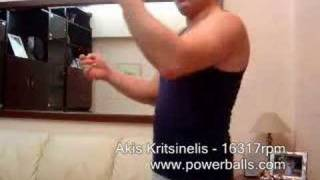 Akis - The Powerball Champion! - World Record!