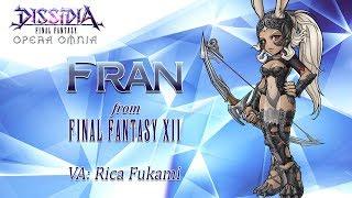 DISSIDIA FINAL FANTASY OPERA OMNIA – Fran