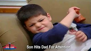 Son Hits Dad For Attention! | Supernanny USA