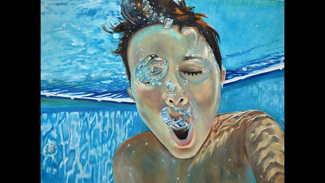 underwater painting easy - 1280×720