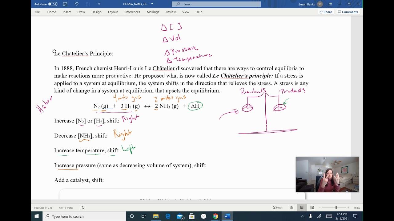 Download Le Chatelier's Principle