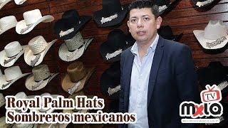 Sombreros Mexicanos de palma desde 1937. Royal Palm Hats. Reportaje   19 174e5ba59a58