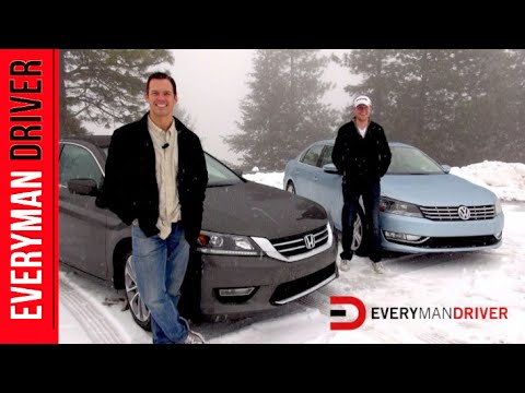 2013 Honda Accord vs. Volkswagen Passat on Everyman Driver