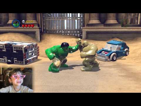 LEGO MARVEL Super Heroes. Прохождение игры на ПК - Часть 1