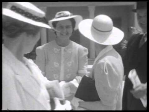Filmed 77 years ago. Giles Gilbert Scott,  Marion Ashe - 25 April 1938 - Cairo Cathedral