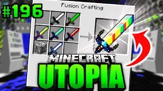 Das ULTIMATIVE +4444 FUSION SCHWERT?! - Minecraft Utopia #196 [Deutsch/HD]