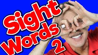 New Sight Words 2 | Sight Words Kindergarten | High Frequency Words | Jump Out Words | Jack Hartmann