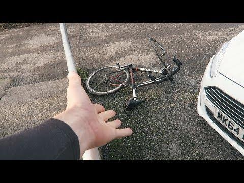STORM CAROLINE TRIED TO BREAK MY BIKE