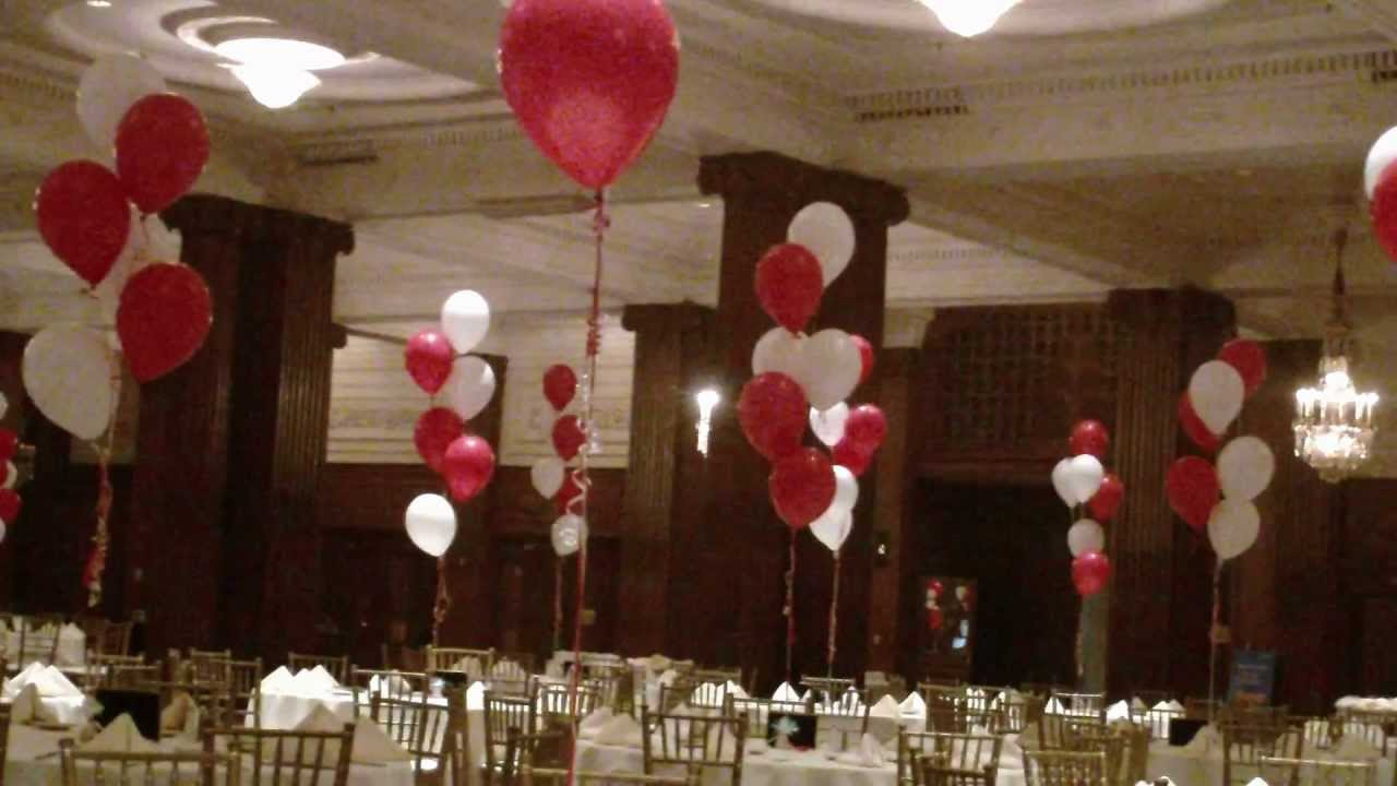 Crystal Tea Room Prom Setup