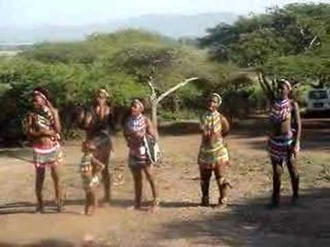 South Africa Zulu Tribal Welcome Song