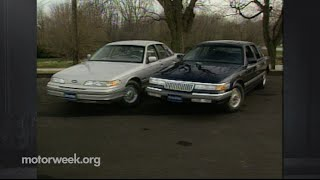 MotorWeek | Retro Review: 1992 Crown Victoria & Grand Marquis