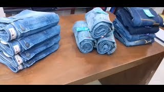How to fold jeans for display |Travel