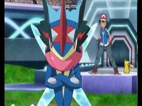 Pokemon Alain Mega Charizard X VS Ash Greninja Kalos League AMV HEADSTRONG