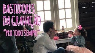 Gambar cover Vlog #003 - Bastidores da gravação do clipe  - Pra todo sempre com Leandro Borges (Mel Dutra)