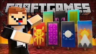 DECORANDO o NETHER com BANNERS! Craft Games 235