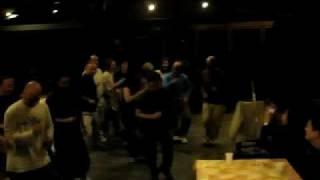 bailando salsa en borda bisaltica Huesca