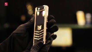 """Schannel - World's first Vertu Signature S Ultimate """"Double Diamond Lines"""" hands on"""