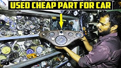 Biggest Market of Used and Cheap Car Parts ! Mayapuri ! BY MACK  RIDER !