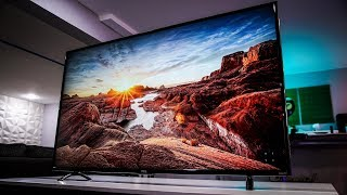 """Is the $650 55"""" 4K HDR TV Worth It?    TCL P-Series Review"""