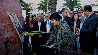 بالفيديو : الوالي زينب العداوي تفتتح  قرية ايض يناير   2967 للسنة الأمازيغية