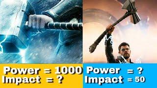 Stormbreaker Vs Mjolnir Which Is Stronger/Mjolnir Vs Stormbreaker