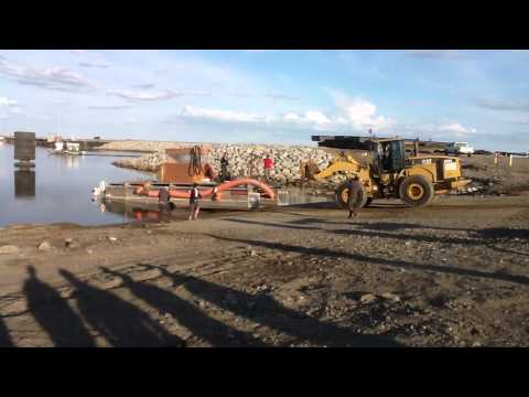 "Launching my 10"" Offshore Nome Gold Dredge"
