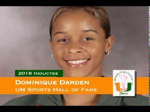 Dominique Darden - University of Miami Sports Hall of Fame